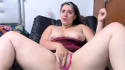 Hottie BBW Solo Masturbation