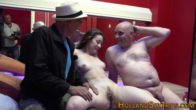 Real hooker gets cumshot