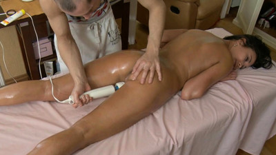 Lusty massage makes excited..