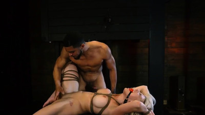 Kinky bondage Big-breasted..
