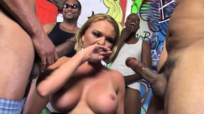 Krissy Lynn Gets Invaded By..