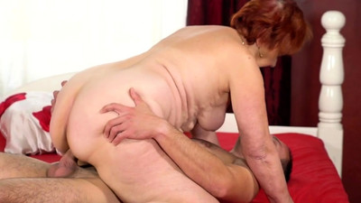 Redhead Granny Fucks Really..