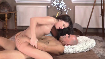 Old mature solo and man cum..