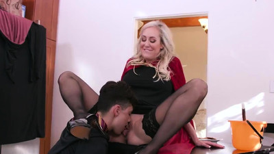 Sexy old milf first time She..
