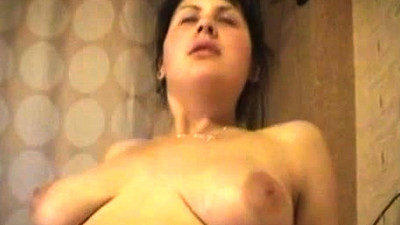 Big Boobs Brunette POV