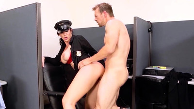 Big TITS in uniform - Jayden..