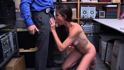 Ffrench MILF thief punish..