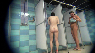 Public Pool s Shower Voyeur
