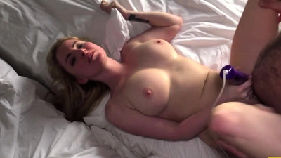 Fetish whore toying pussy