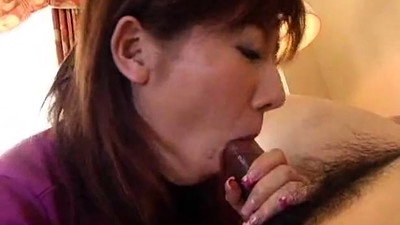 Naughty asian cumshot..