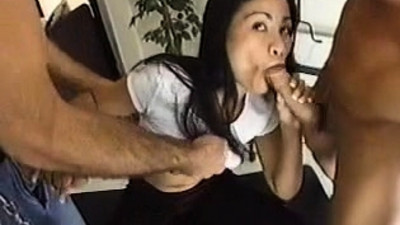 Hardcore Asian Threesome