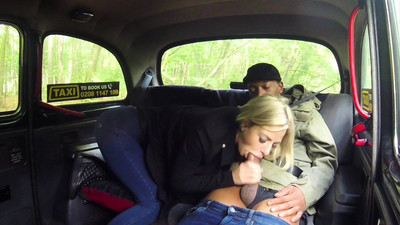 Female Fake Taxi Big tits..