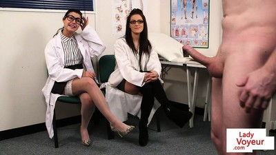 Spex voyeur nurses giving..