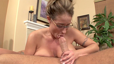 Eva Notty in Blowjob cum..