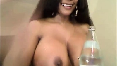 Amazing Big Boobs Latina..