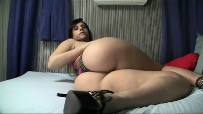 Fresh BBW  teasing with her..