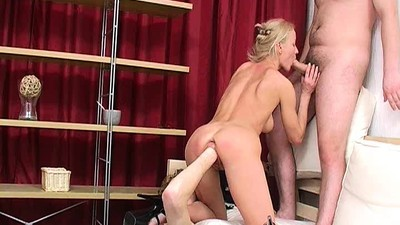 Blonde babe Xenia Brutal..