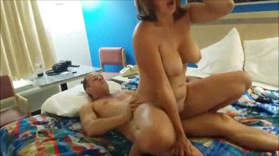 Horny wife having sex with..