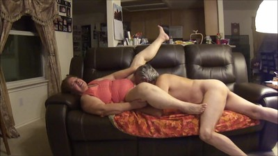 Horny Elder Couple on a..