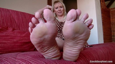 czech foot mature