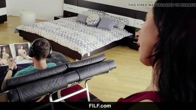 Stepmom Lily Lane Catches..