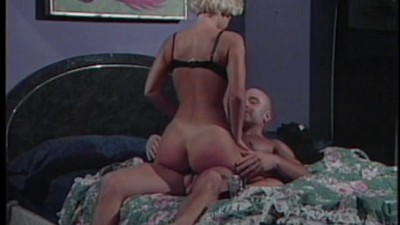Guy watches as girl rides cock