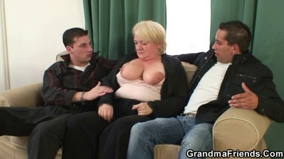 Hot threesome with nasty..