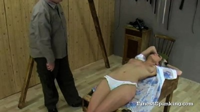 Great Booty Spanking..