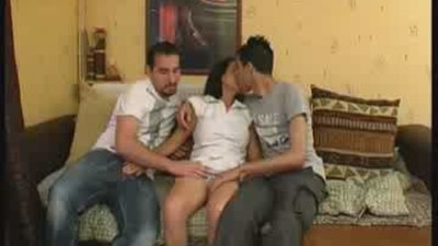 First gangbang for Sonia