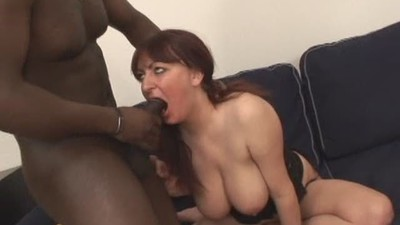 chubby Mature loves black cock