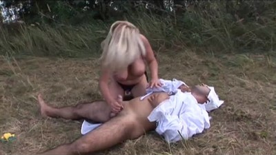 Chubby Mature  fucked a Boy..