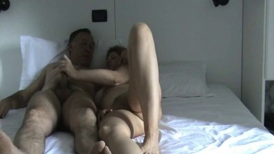 matur couple on the bed