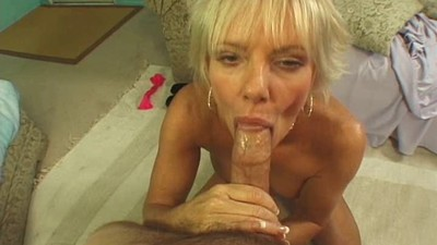 dirty talking blonde milf
