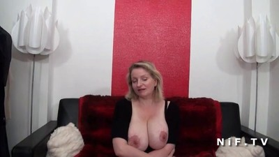 BBW French milf with huge..