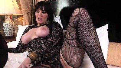 Busty BDSM bitch torturing..