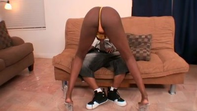 Black Beauty fucks a Fat BBc