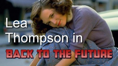Lea Thompson in 'Back..