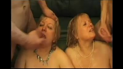 Two mature blonde chubby..