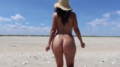 Pretty booty Wife naked in..