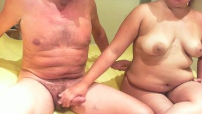 Mature couple enjoys 69..