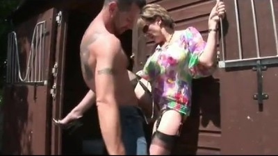 Gill get fucked outdoors