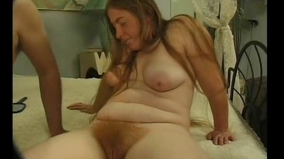 mature woman with long hair