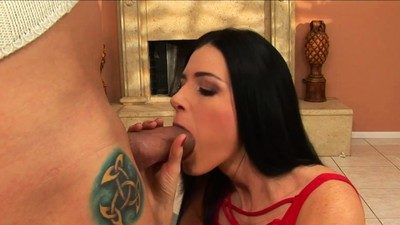 young MILF babe India Summer..