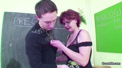 Female Milf Teacher show..
