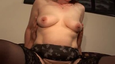 Hairy Mature Redhead in..