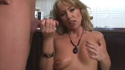 Milf in the kitchen