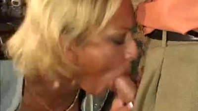Cocksucking Blonde Anal Sex..