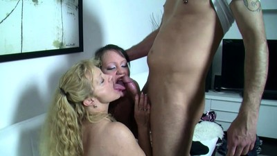 German MILF teach Step..