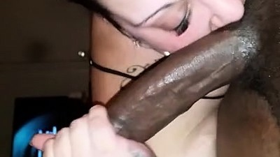 Bbw milf has fun with a big..