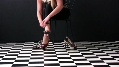 MMF blonde foot fetish